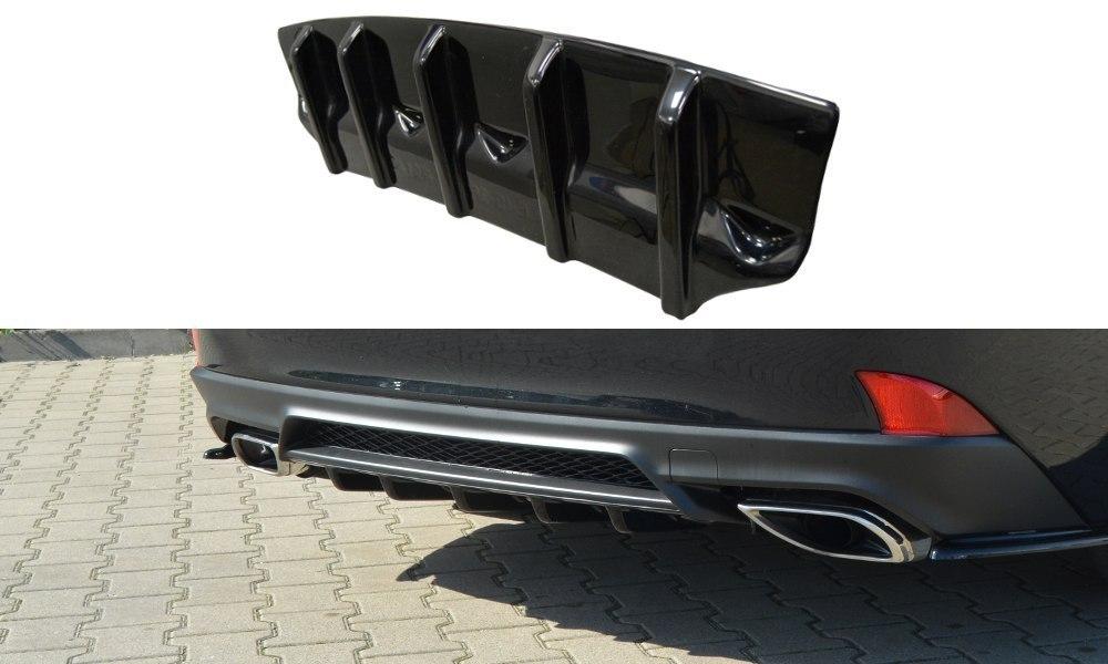 Dokładka Tył Lexus IS Mk3 Facelift T - GRUBYGARAGE - Sklep Tuningowy